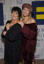 Liza with Barbra Streisand