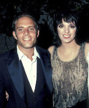 Liza with her brother, Joey Luft