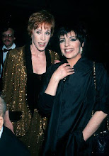 Liza with Carol Burnett