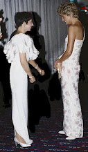 Liza with Princess Diana