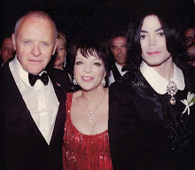 Liza with Anthony Hopkins and Michael Jackson