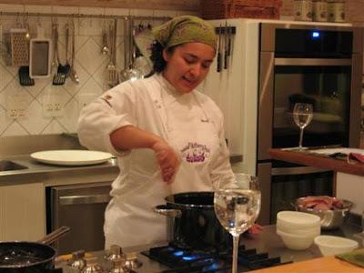 Chef+Talitha+Barros - >Cerveja, Polenta, Menu del Lazio, Vinho, Queijo e Cozinha Francesa