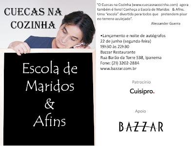 Convite+Bazzar email - >É hoje!