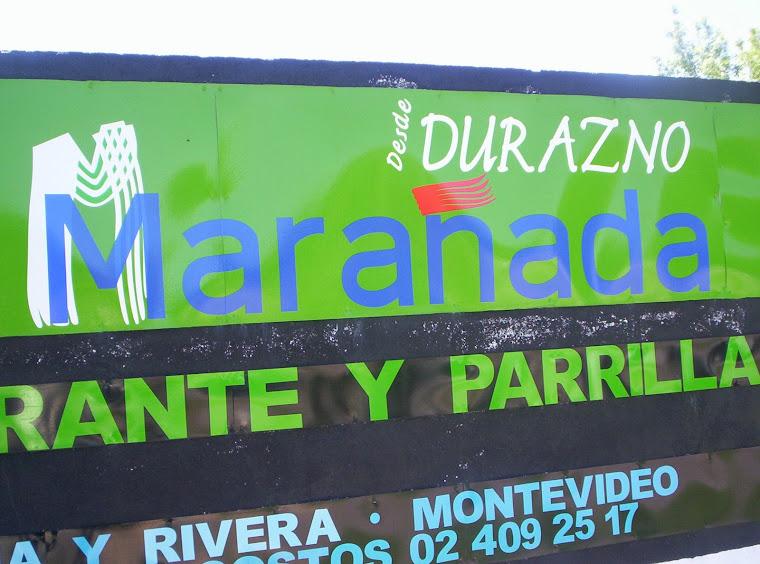 LA MARAÑADA: PARRILLADA DE PRIMERA DIVISIÓN, ORGULLO DURAZNENSE