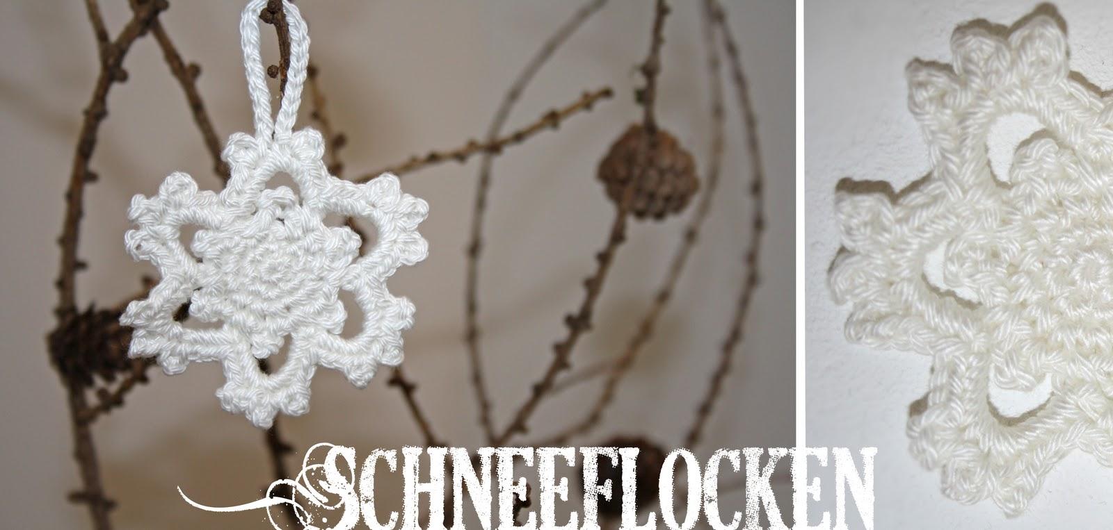 nina 39 s schatzkiste h kel schneefl ckchen. Black Bedroom Furniture Sets. Home Design Ideas