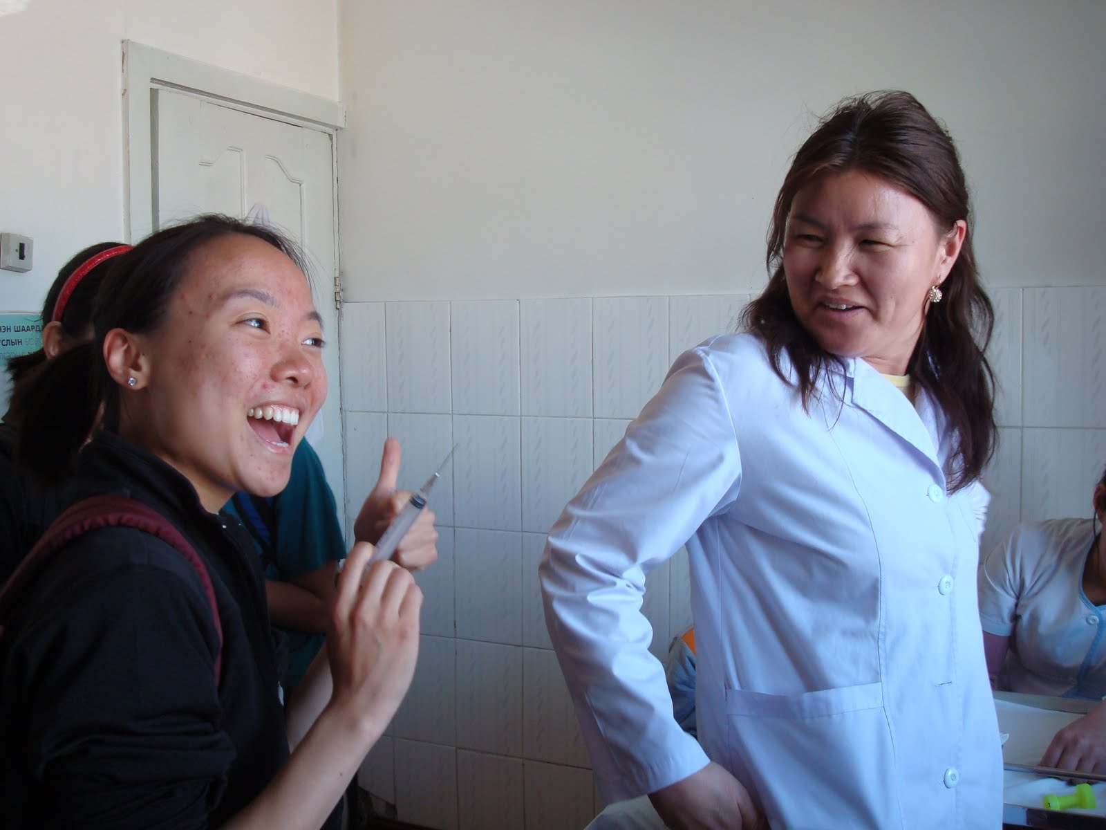 Steppe Into Mongolia: Injection! Injection!