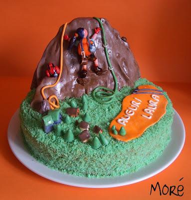 Torta Compleanno Laura.Menta E Cioccolato Cake For A Climber L Alpinista Torta Per