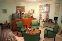 Het gepreserveerde huis van Ben-Gurion en zijn vrouw (Sde Boker)