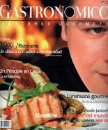 PUBLICACIONES GASTRONOMICAS RECIENTES
