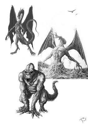 Ulysse Blake Monstre-et-dragon