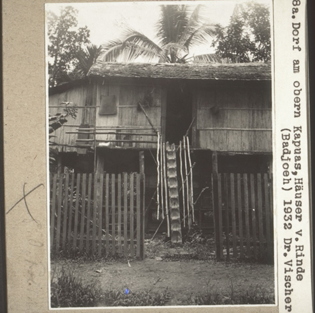 informasi kapuas rumah dari kulit kayu di badjoeh foto