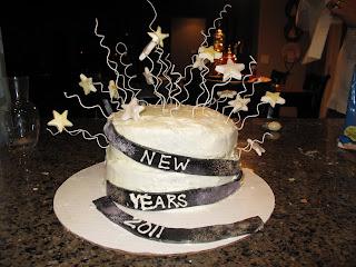 The little Baker Girl: New Years Eve Cake