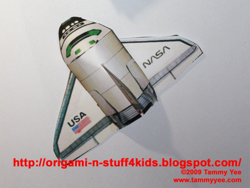 space shuttle craft ideas - photo #18