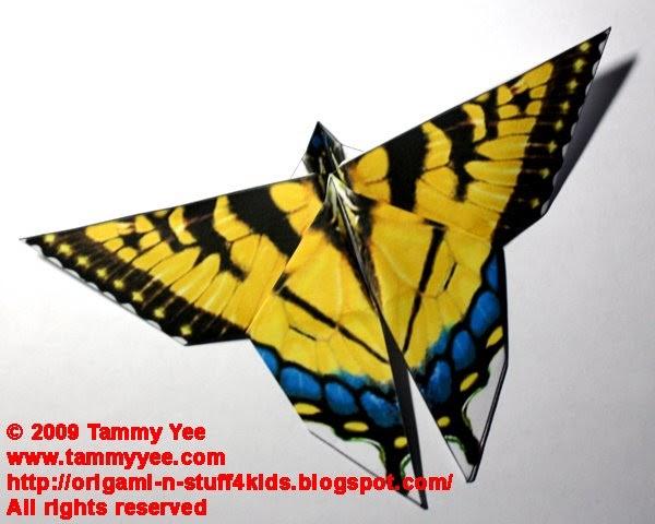 Origami N Stuff 4 Kids Origami Swallowtail Butterfly