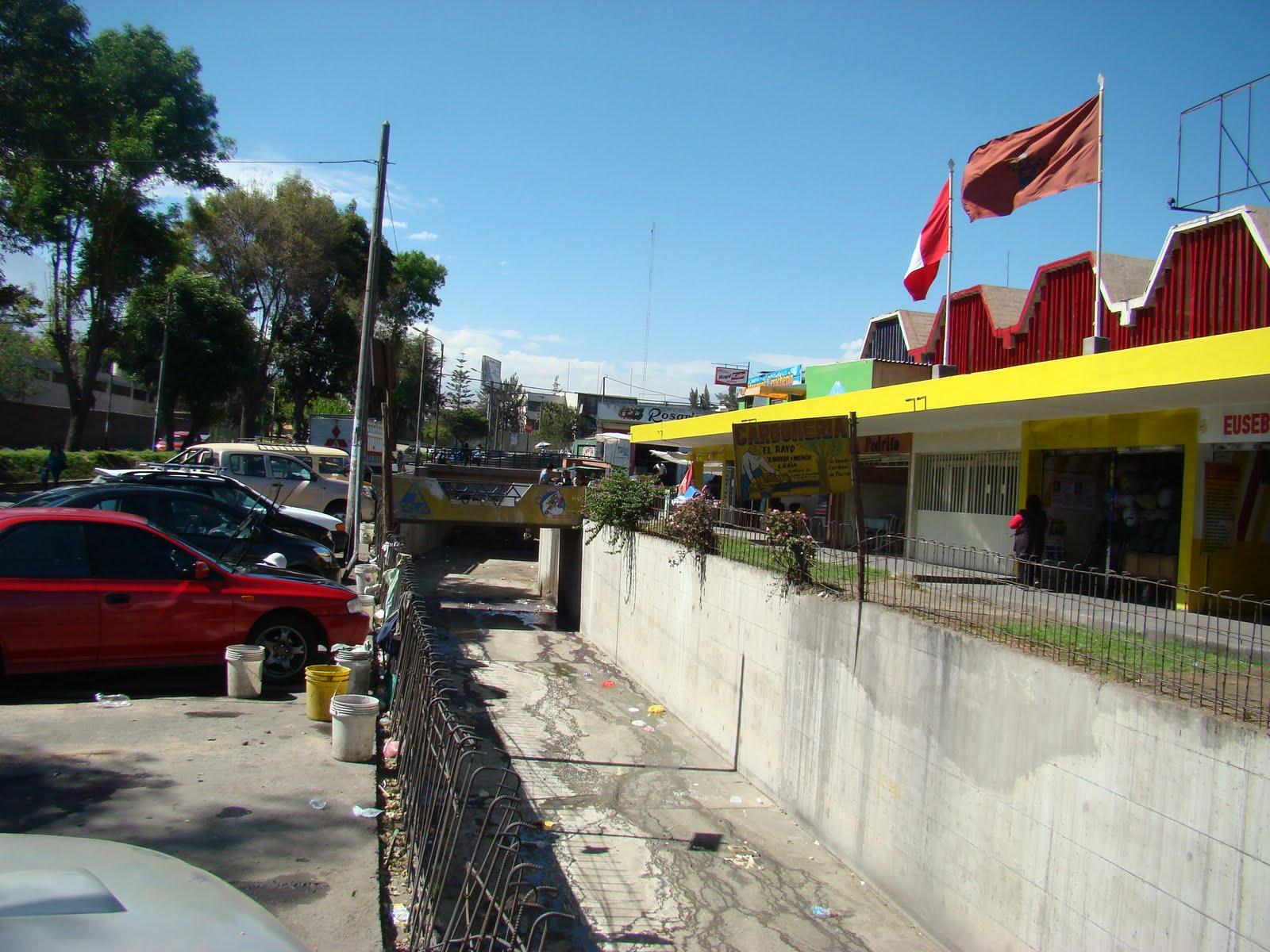 Muni Arequipa: Zona donde se construirán paraderos Mercado el ...