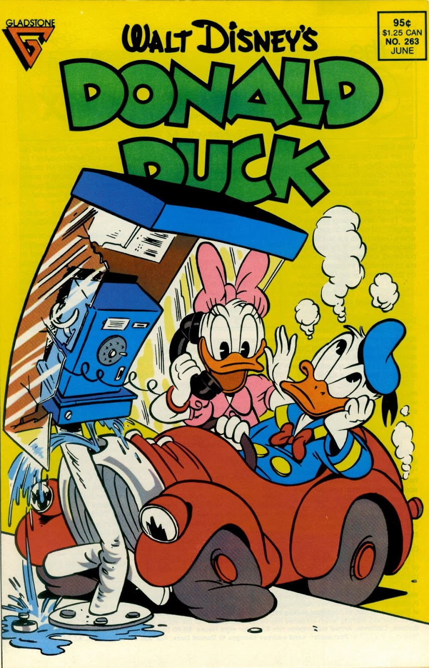 Donald Duck Cover Gag