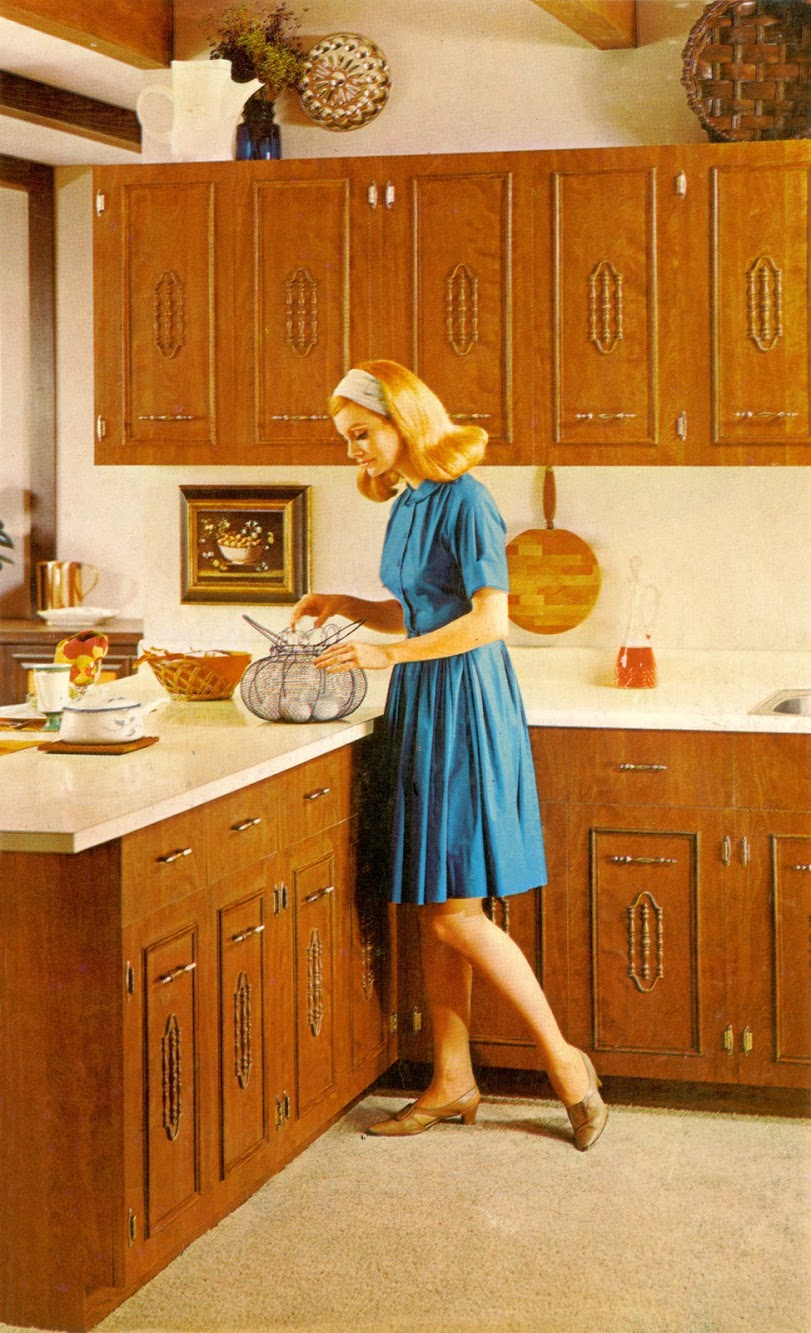 Lady In Kitchen