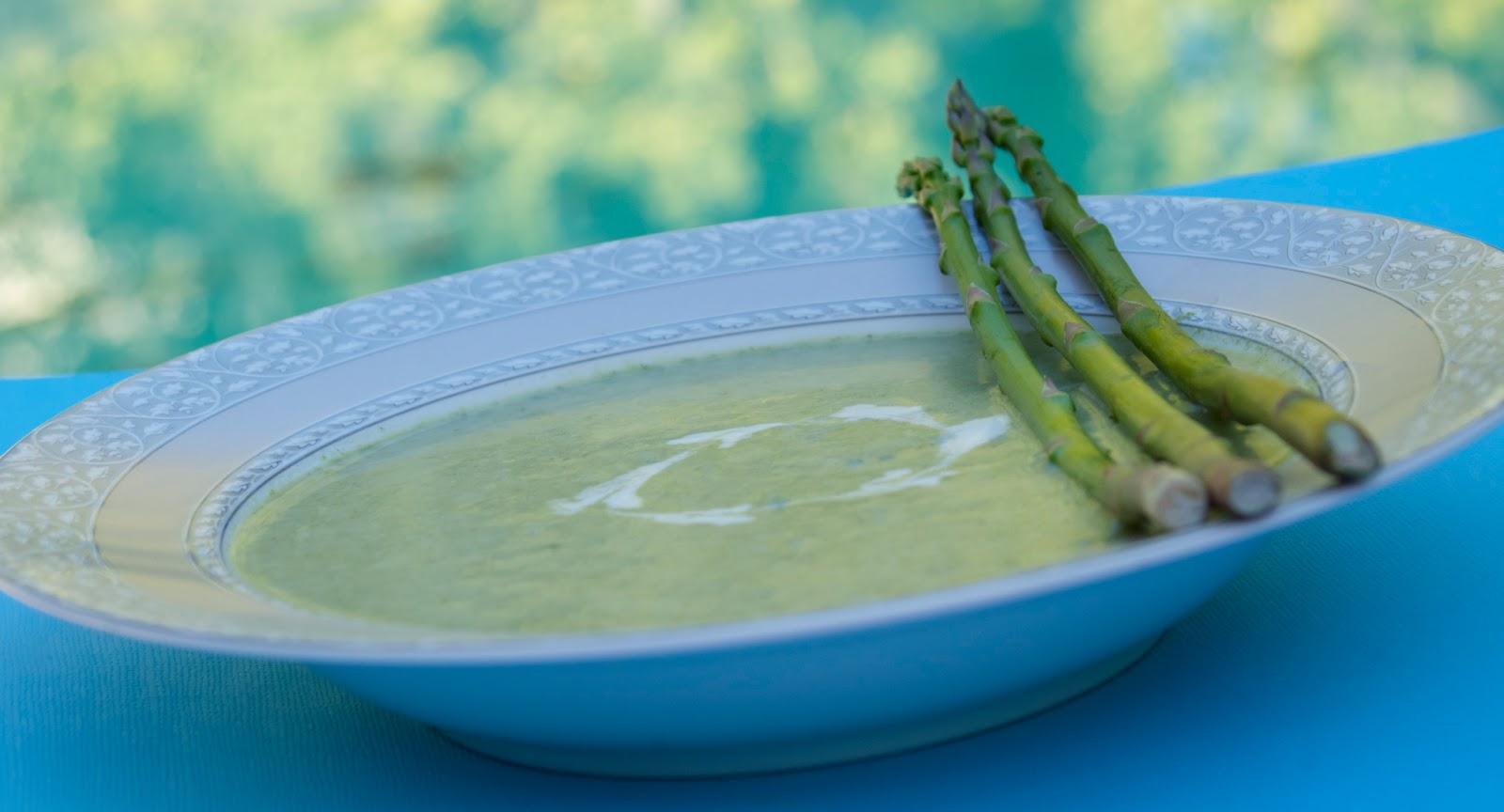 Asparagus Soup Recipe images