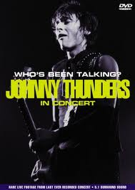 Capa do DVD de Johnny Thunders