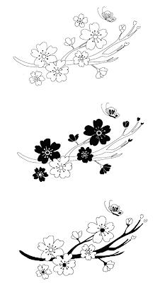 Tattoo Designs Cherry Blossom