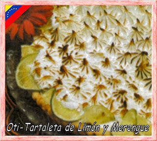 Tartaleta de Limon y Merengue (Venezuela)