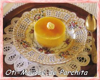 Mousse de parchita (Venezuela)