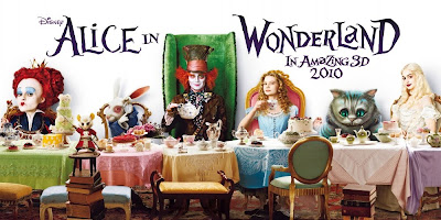 Alice im Wunderland Superbowl