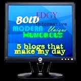 Five Blogs that Make My Day Award
