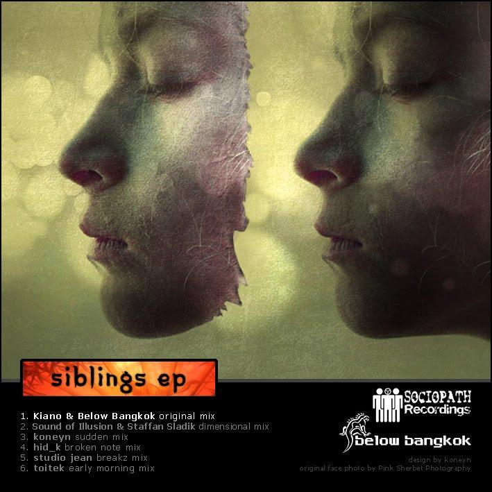SOCIOPATH RECORDINGS: RELEASES: [SRmp3 171] Below Bangkok - Siblings