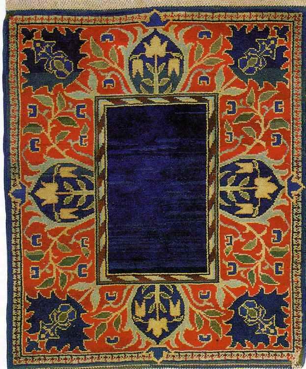 Pre Raphaelite Art: William Morris - Hammersmith Carpet, c ...