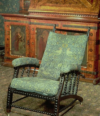 Pre Raphaelite Art William Morris Chair