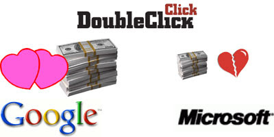 Google v.s. Microsoft on deal with DoubleClick