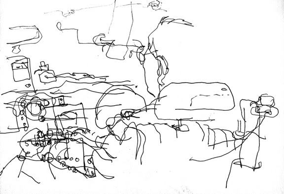 What Is Blind Contour Line Drawing : Organisation of illustrators council blind contour