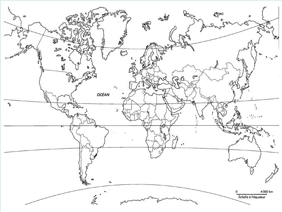 carte du monde noir et blanc world map weltkarte peta dunia mapa del mundo earth map. Black Bedroom Furniture Sets. Home Design Ideas