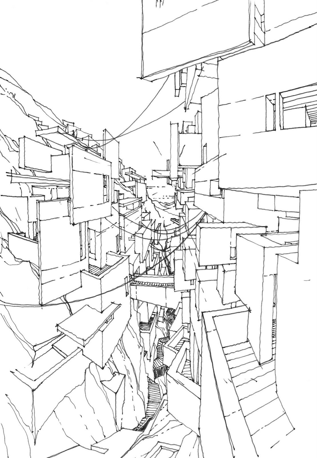 The Architecture Draftsman Imaginary Jerusalem 5