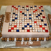 Father's Day Scrabble Cake