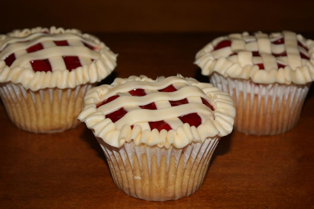 Patty Cakes Bakery Cherry Pie Cupcakes