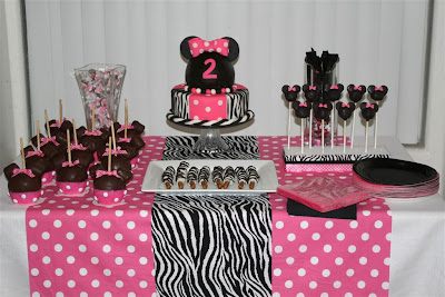 Minnie Mouse Birthday Party minnie mouse cake