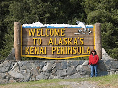 Ashley at the Kenai Peninsula