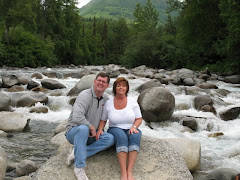 Bob and me at the river....aren't we a pair?!