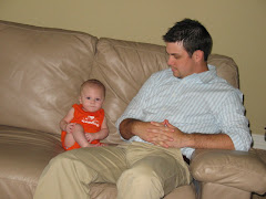 Bray-Bray and dad....Discussing life!!!!
