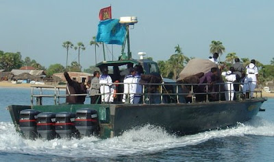 LTTE sea tiger boat