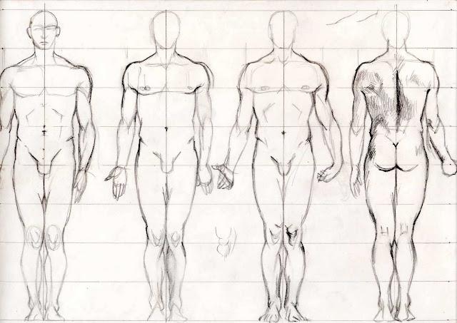 Desenho Do Corpo Humano Masculino