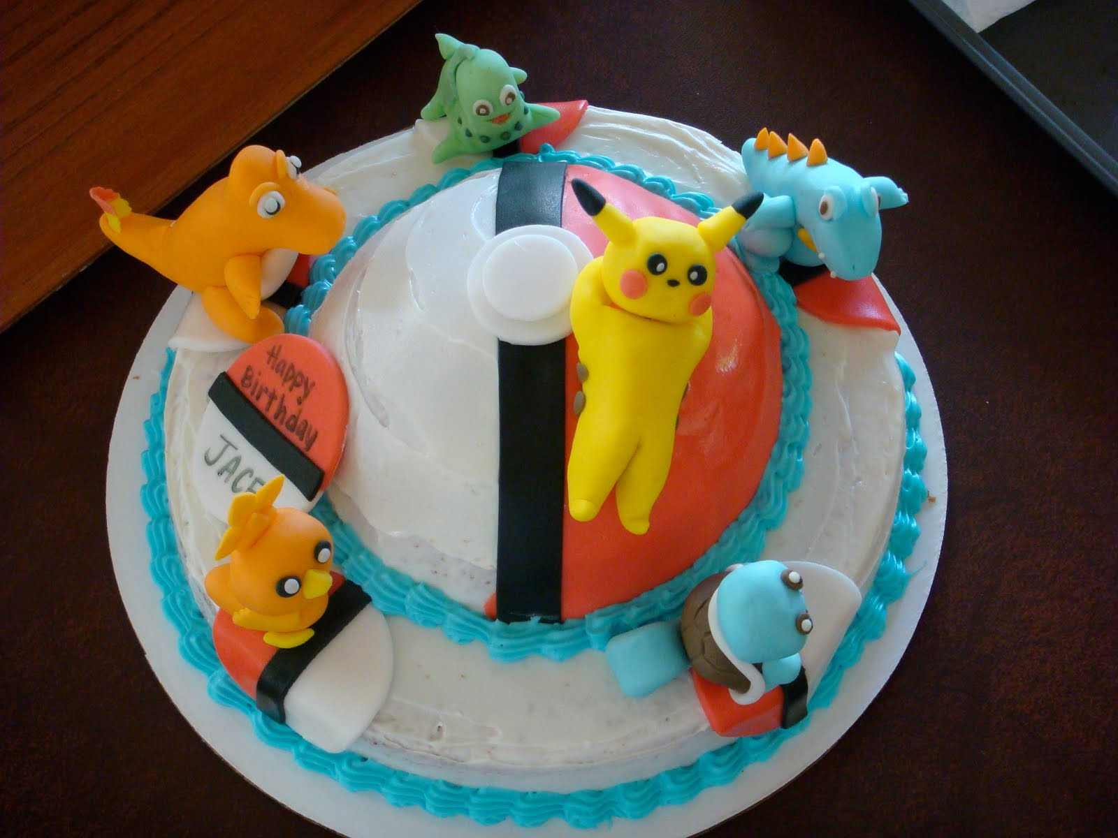 Our Decorated Cakes And Cupcakes Pokemon Cake