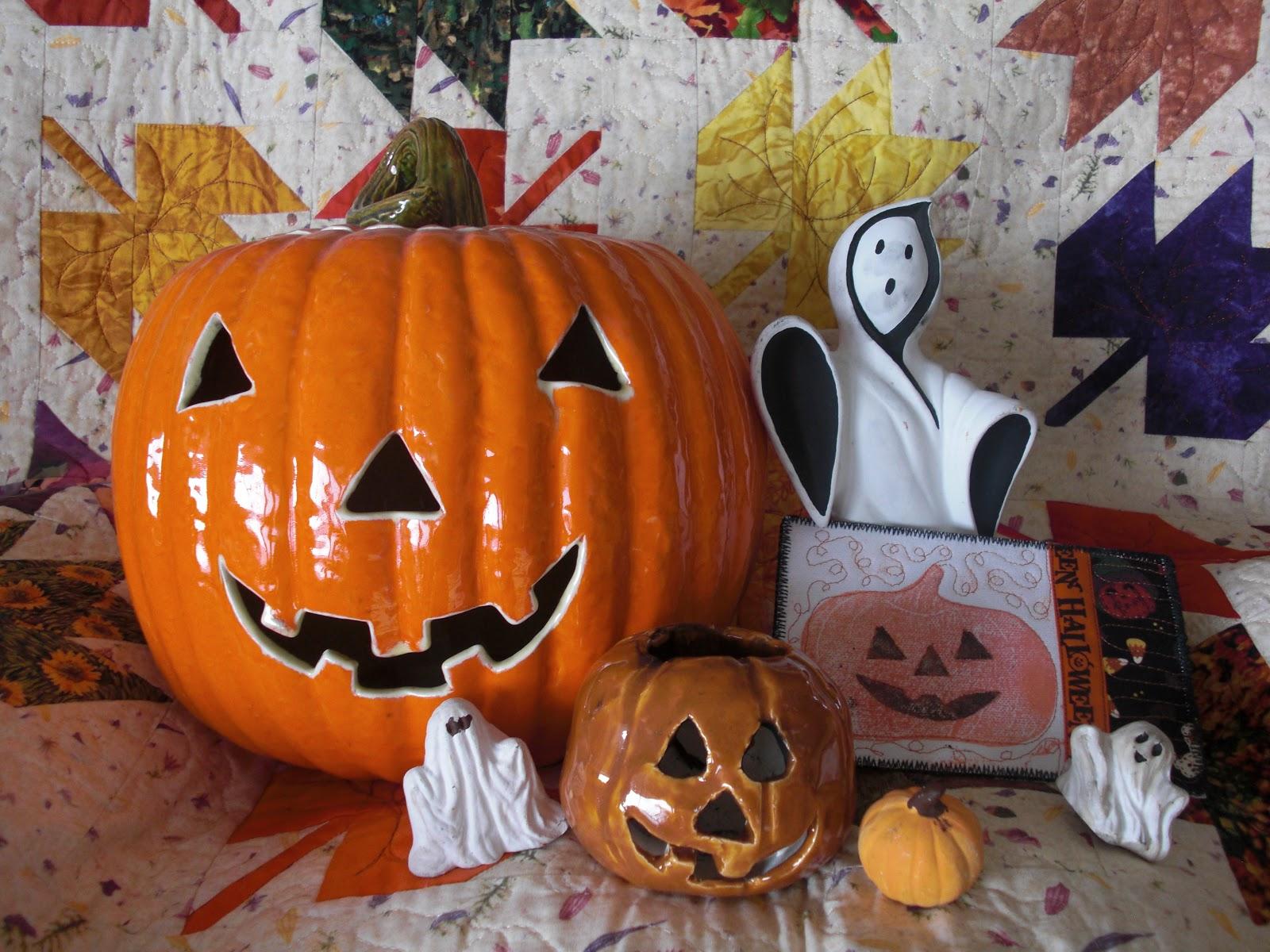 Fiber Art By Diane Happy Halloween
