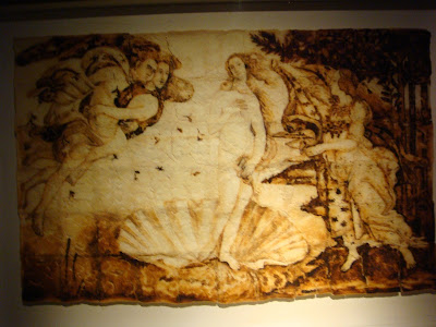 Botticelli, Birth of Venus in Toast, Ripley Museum, San Antonio