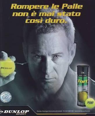 John McEnroe per Dunlop