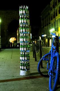 guerrilla marketing Nastro Azzurro