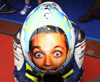 nuovo casco Valentino Rossi