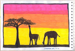 Sunset In Savana